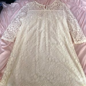 Dresses - 3 for $12 Half Sleeve Lace Dress